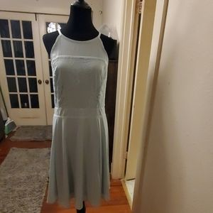 Torrid Sz 20 Teal Lace Dress